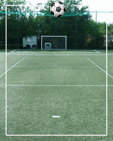 tenis picior teren descoperit